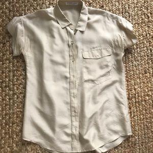 Everlane Habotai Silk Shirt